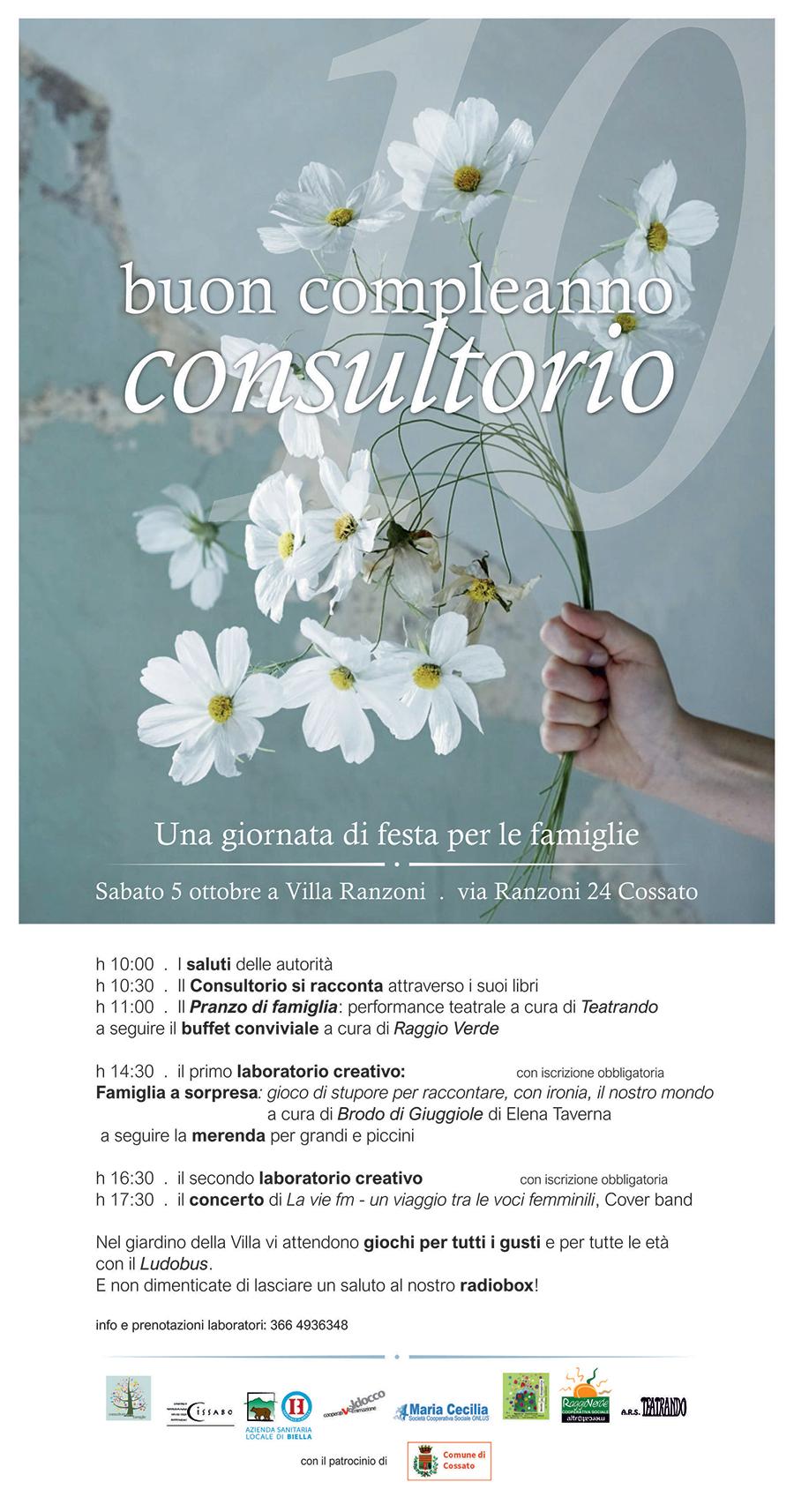 Maria Cecilia Buon Compleanno Consultorio